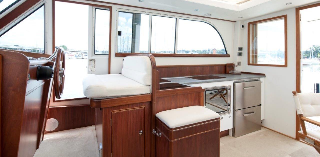 Moon River interior cabin refit