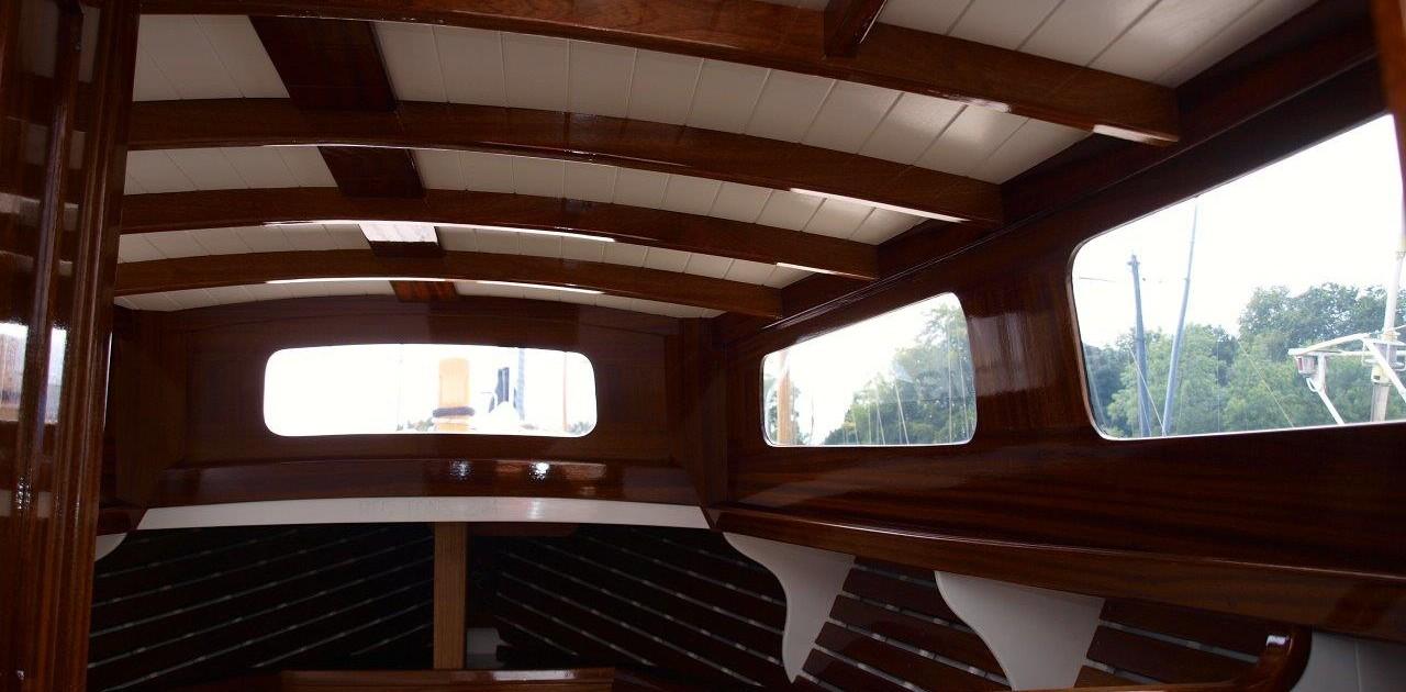 Nigella cabin interior