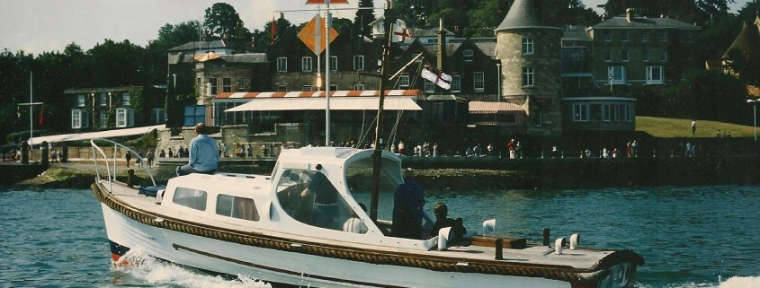 Nigella at the Royal Yacht Squadron