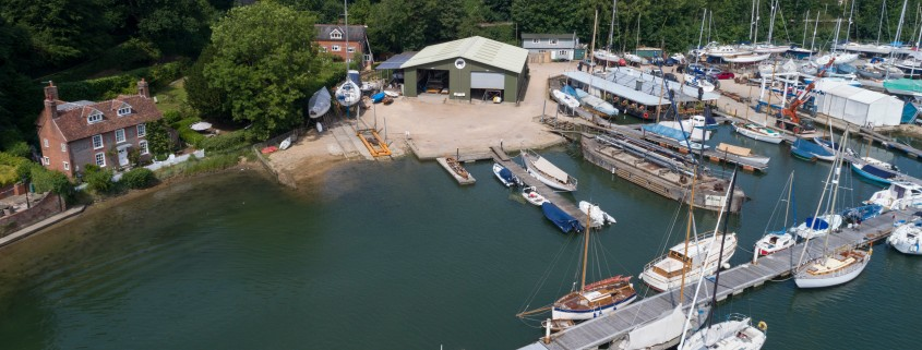 Elephant Boatyard, Bursledon. 21st June 2017.